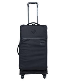 BLACK MENS ACCESSORIES HERSCHEL SUPPLY CO BAGS + BACKPACKS - 10672-00001-OSBLK