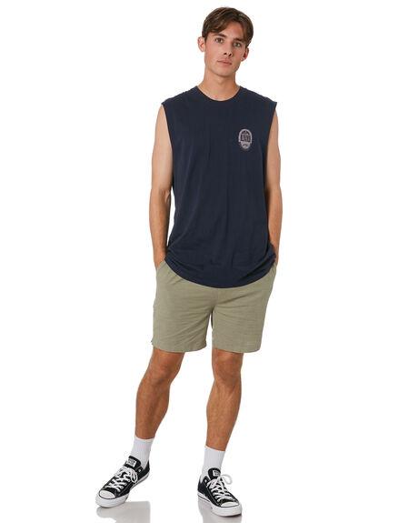 DARK SAPPHIRE MENS CLOTHING RUSTY SINGLETS - MSM0273DRS