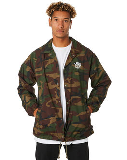 CAMO MENS CLOTHING VANS JACKETS - VN-02MUCMACAMO