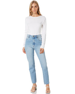 WHITE WOMENS CLOTHING ALL ABOUT EVE TEES - 6454019WHT