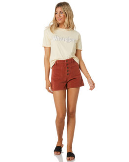PUMPKIN SPICE WOMENS CLOTHING WRANGLER SHORTS - W-951653-NB4