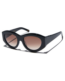BLACK WOMENS ACCESSORIES PARED EYEWEAR SUNGLASSES - PE1802BABLK