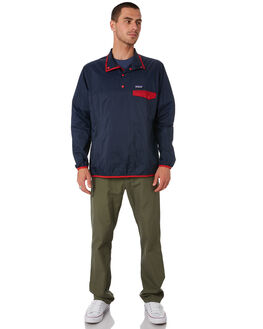 STONE BLUE NEW MENS CLOTHING PATAGONIA JACKETS - 24150SBNE