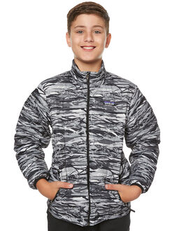 BRANCH CAMO FEATHER KIDS BOYS PATAGONIA JACKETS - 68244BCFG