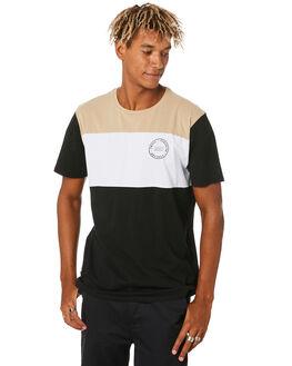 BLACK MENS CLOTHING SWELL TEES - S5204009BLACK