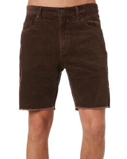 DARK COFFEE MENS CLOTHING RUSTY SHORTS - WKM0936DCF