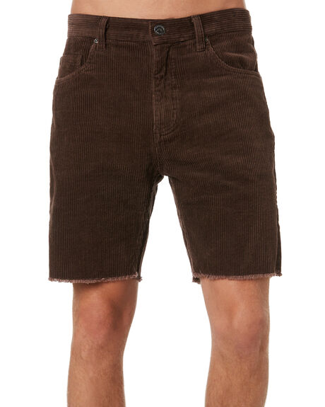 DARK COFFEE MENS CLOTHING RUSTY SHORTS - WKM0936DCF
