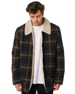 PORTOBELLO MENS CLOTHING RUSTY JACKETS - JKM0408PBO