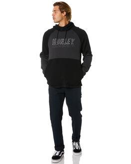 DARK SMOKE GREY MENS CLOTHING HURLEY JUMPERS - CU0354079