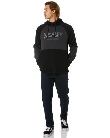DARK SMOKE GREY MENS CLOTHING HURLEY JUMPERS - CU0354079