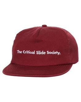 MARSALA MENS ACCESSORIES THE CRITICAL SLIDE SOCIETY HEADWEAR - HW1802MAR