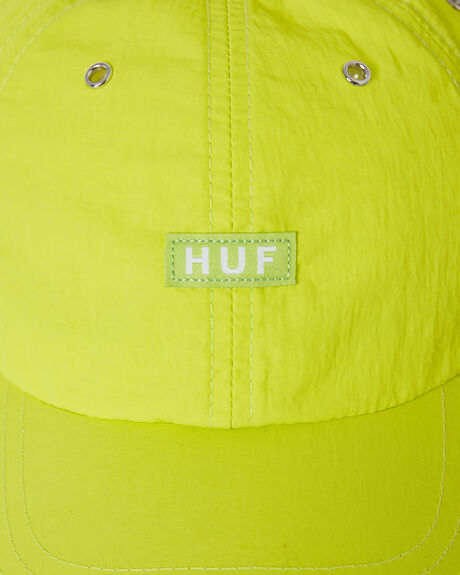 HOT LIME MENS ACCESSORIES HUF HEADWEAR - HT00443LIME