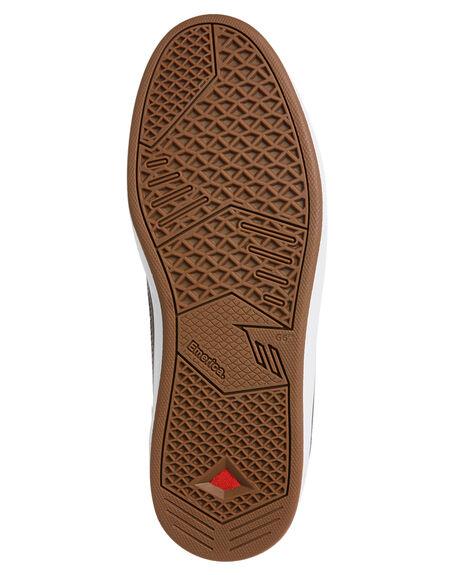 GREY MENS FOOTWEAR EMERICA SKATE SHOES - 6102000118-020