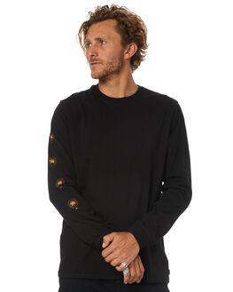 BLACK MENS CLOTHING SWELL TEES - S5184109BLACK