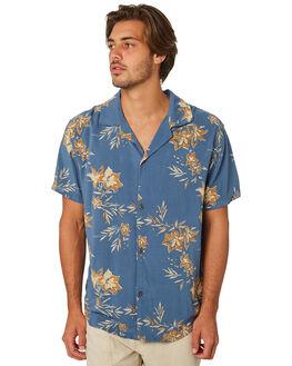 PACIFIC BLUE MENS CLOTHING RHYTHM SHIRTS - JAN19M-WT05-BLU