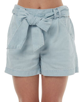BLEACH CHAMBRAY KIDS GIRLS RIDERS BY LEE SHORTS - R-580041-CZ7BLEA