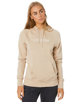 OXFORD TAN WOMENS CLOTHING VOLCOM JUMPERS - B3111886-OXTAN