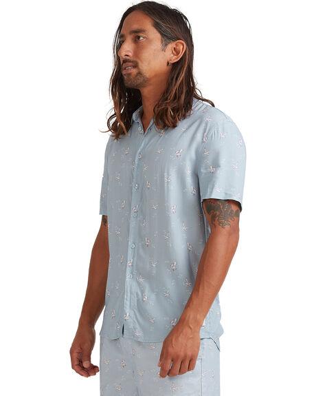 SALTY BLUE MENS CLOTHING VONZIPPER SHIRTS - VZ-V903223-SUE
