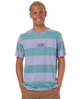 DUSTY MINT MENS CLOTHING GLOBE TEES - GB01721001DMINT
