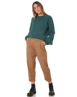 EMERALD WOMENS CLOTHING BRIXTON KNITS + CARDIGANS - 02713-EMRLD