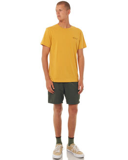 GOLD MENS CLOTHING RHYTHM TEES - DEC17M-SS06GOLD