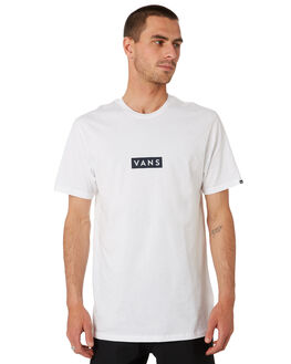 WHITE DRESS BLUES MENS CLOTHING VANS TEES - VNA3HREK9TWHT