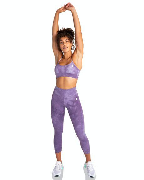 MAUVE PURPLE WOMENS CLOTHING DOYOUEVEN ACTIVEWEAR - I.33.XS