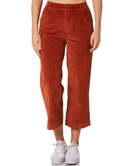 RUST WOMENS CLOTHING BILLABONG PANTS - 6595404R02