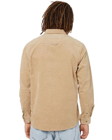 KHAKI MENS CLOTHING RIP CURL SHIRTS - CSHFH90064