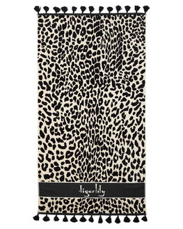 LEOPARD WOMENS ACCESSORIES TIGERLILY TOWELS - T491890LEO