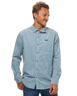 STEEL BLUE MENS CLOTHING RIP CURL SHIRTS - CSHJV14005