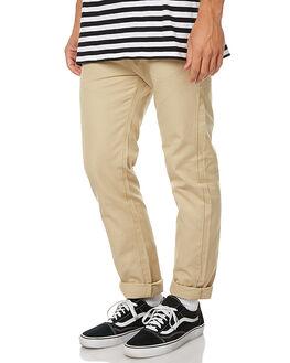 KHAKI MENS CLOTHING MOLLUSK PANTS - MS1278KHA