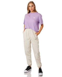 LAVENDER WOMENS CLOTHING STUSSY TEES - ST192014LAV