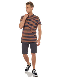 DUSTY BROWN MENS CLOTHING VOLCOM TEES - A0141701DBN