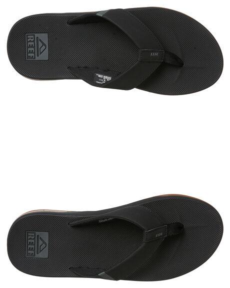 BLACK MENS FOOTWEAR REEF THONGS - A3KIHBLA