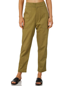 OLIVE WOMENS CLOTHING ZULU AND ZEPHYR PANTS - ZZ2426OLI