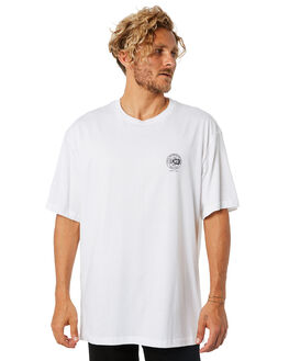WHITE OUTLET MENS LOWER TEES - LO18Q4MTS15WHT