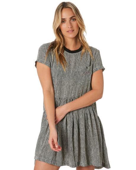 STRIPE WOMENS CLOTHING VOLCOM DRESSES - B1312053MLT