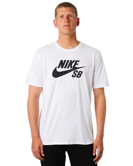 WHITE MENS CLOTHING NIKE TEES - 821946100
