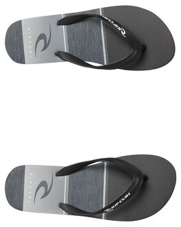 BLACK MENS FOOTWEAR RIP CURL THONGS - TCTA190090