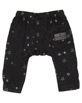 WASHED BLACK KIDS BABY MUNSTER KIDS CLOTHING - MI181PA03WBLK