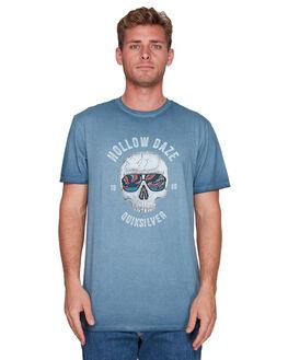 MOONLIT OCEAN MENS CLOTHING QUIKSILVER TEES - EQYZT05425-BYK0