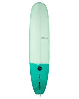 TWO TONE GREEN BOARDSPORTS SURF MODERN LONGBOARDS GSI SURFBOARDS - MD-RETROPU-TTG