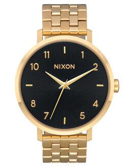 GOLD BLACK SUNRAY MENS ACCESSORIES NIXON WATCHES - A10902042