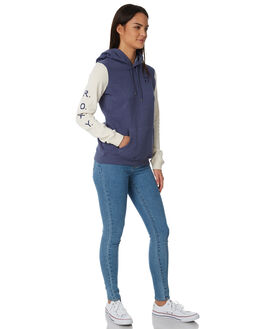CROWN BLUE WOMENS CLOTHING ROXY JUMPERS - ERJFT03759BQY0