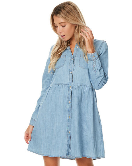 DENIM WOMENS CLOTHING SWELL DRESSES - S8172449DENIM