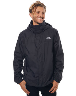 BLACK MENS CLOTHING THE NORTH FACE JACKETS - NF0A2VD5KX7