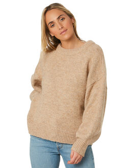 NATURAL WOMENS CLOTHING THE HIDDEN WAY KNITS + CARDIGANS - H8203146NATRL