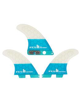 TEAL BOARDSPORTS SURF FCS FINS - FPER-PCS2-LG-TS-RTEA