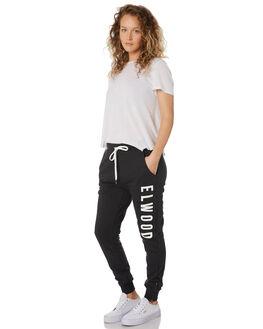 VINTAGE BLACK WOMENS CLOTHING ELWOOD PANTS - W91613AAG